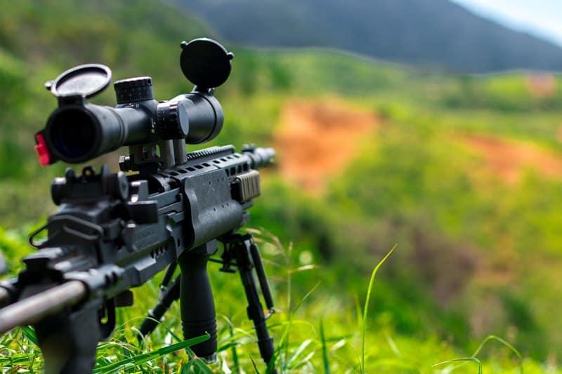 repair a rifle scope