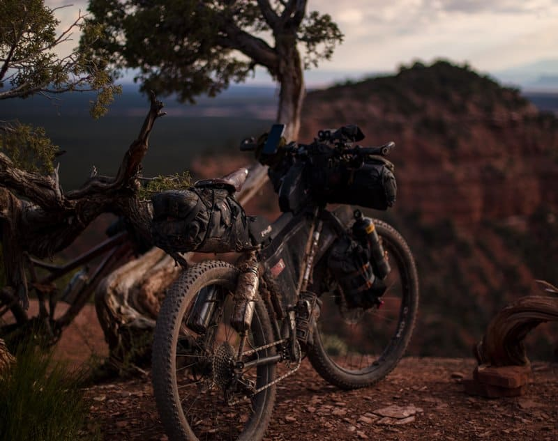 beginner's guide to cycle or bike camping