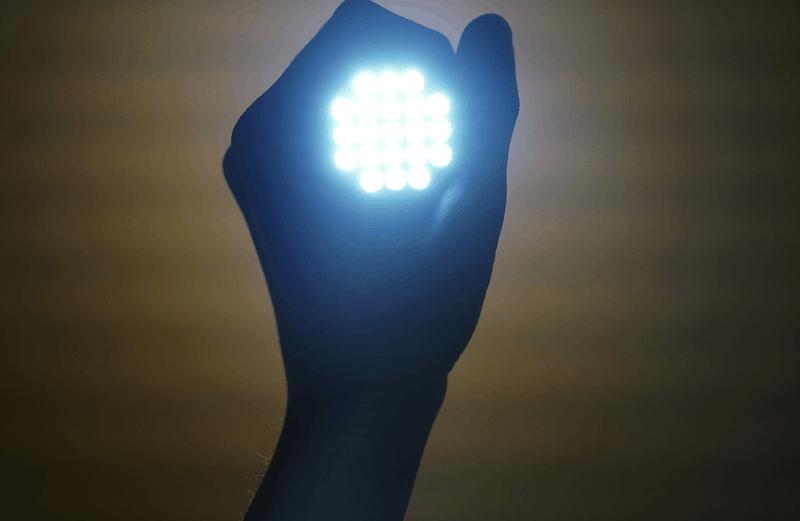flashlight to prevent bears
