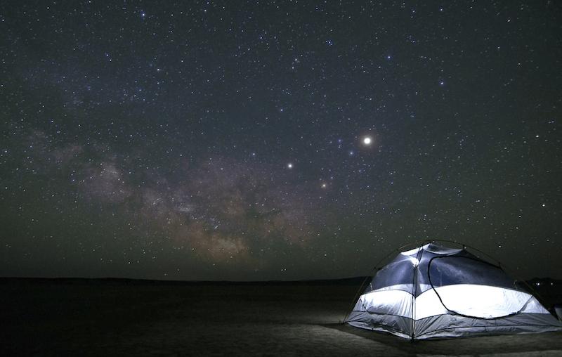 bug free camping